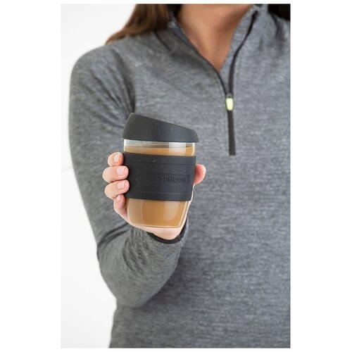 Кружка для кофе 400 мл черная