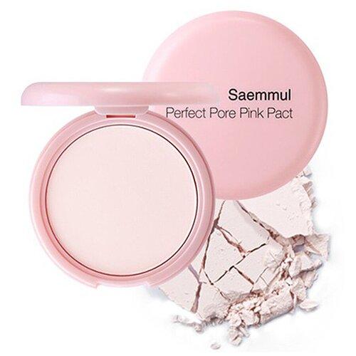 Купить The Saem Компактная пудра Saemmul Perfect Pore Pink Pact розовый