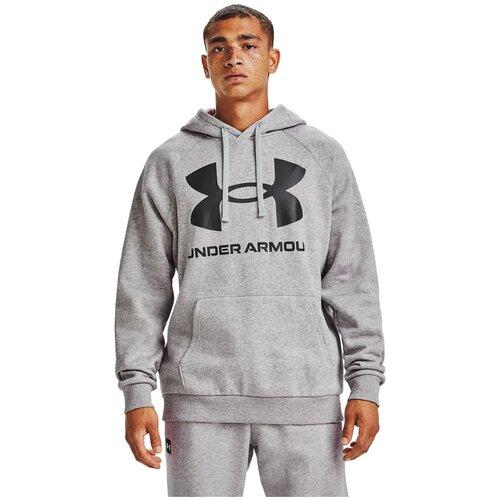 Толстовка Under Armour Rival Fleece Big Logo Hoodie Серый XS 1357093-011