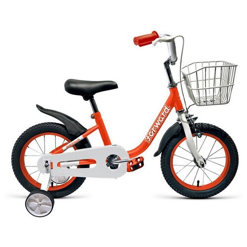 Фото - Детский велосипед FORWARD Barrio 16 (2021) красный (требует финальной сборки) детский велосипед forward barrio 18 2020 красный требует финальной сборки