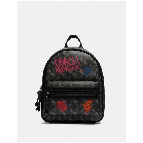 Женский кожаный рюкзак Coach coach бумажник