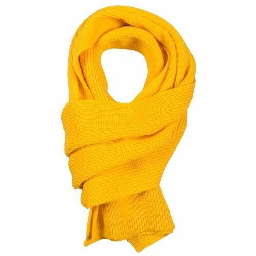 Шарф teplo Amuse, акрил желтый