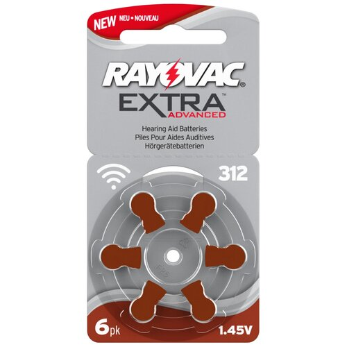 Фото - Батарейка RAYOVAC Extra ZA312, 6 шт. батарейка rayovac peak za13 6 шт