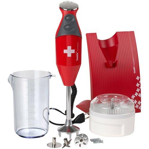 Фото - Погружной блендер Bamix M200 SwissLine, красный погружной блендер bamix baking m200 cream