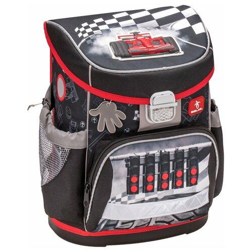 Купить Belmil Ранец Mini-Fit Speed Racing (405-33/613), черный/красный, Рюкзаки, ранцы