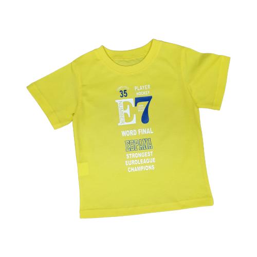 Купить Футболка Золотой ключик, размер 98 (26), Желтый, Футболки и майки