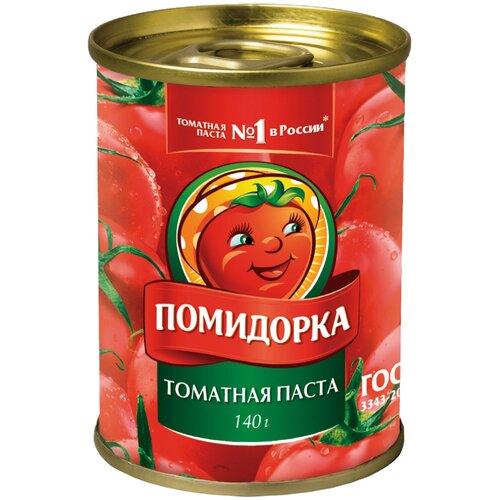 Помидорка Томатная паста, жестяная банка, 140 г