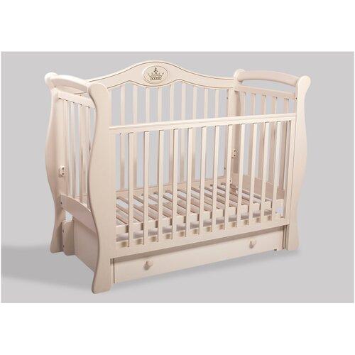 Кроватка детская Baby-Luce Умка К слоновая кость, Кроватки  - купить со скидкой