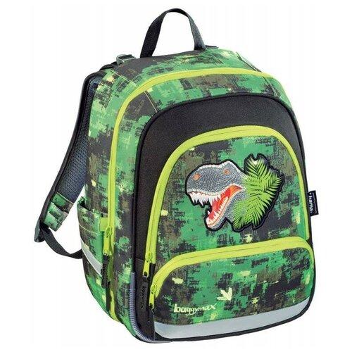 Купить Ранец BaggyMax Speedy - Green Dino, без наполнения (430104), Hama, Рюкзаки, ранцы