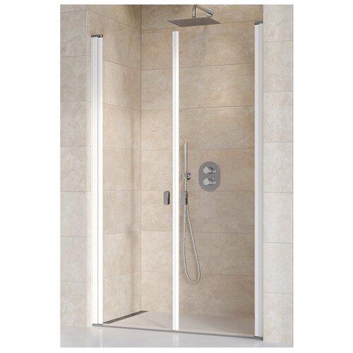 Душевая дверь Ravak Chrome CSDL2-100 белый+транспарент