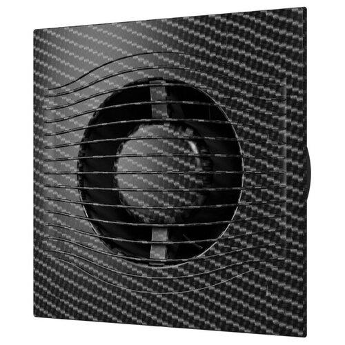 Вытяжной вентилятор DiCiTi SLIM 4C, black carbon 7.8 Вт недорого