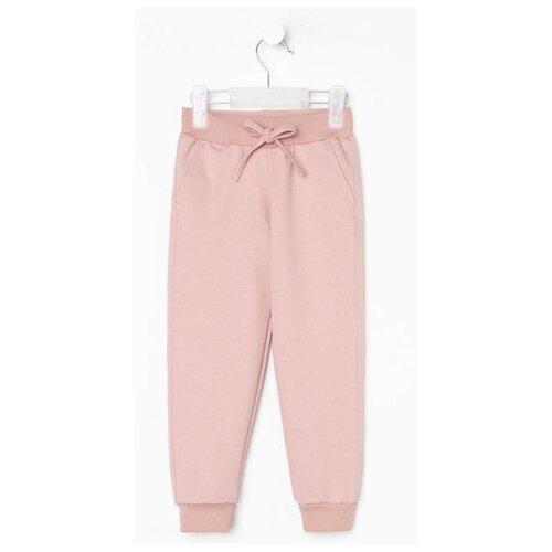 Брюки Kaftan Basic line размер 146-152, розовый брюки orby 100117 размер 146 152 черный