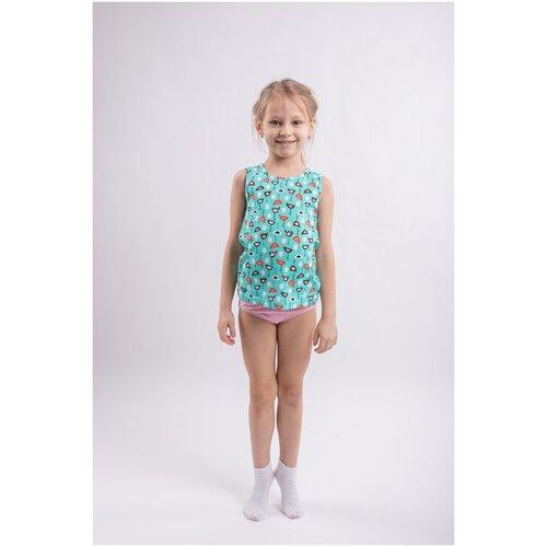 Купить Комплект для девочки Свiтанак, светло-розовый, курочки, 98, 104-56, Белье и купальники