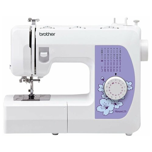 Фото - Швейная машина Brother Hanami 27S швейная машина brother hanami 17 бело розовый
