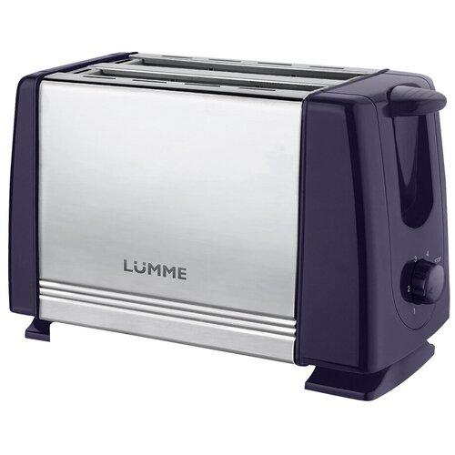 Тостер LUMME LU-1201 темный топаз