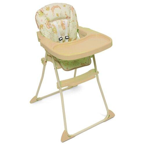 стул для кормления globex космик new белый Стул для кормления МИНИ NEW - бежевый