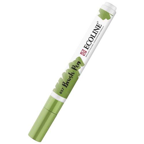 Маркер акварельный Ecoline кисть №676 Зеленый луг new по цене 323