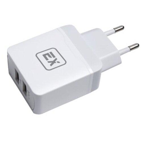 Фото - Зарядное устройство для телефона 2USB 3.4A Exployd Sonder EX-Z-430 White зарядное устройство exployd sonder 2xusb 3 4a white ex z 775
