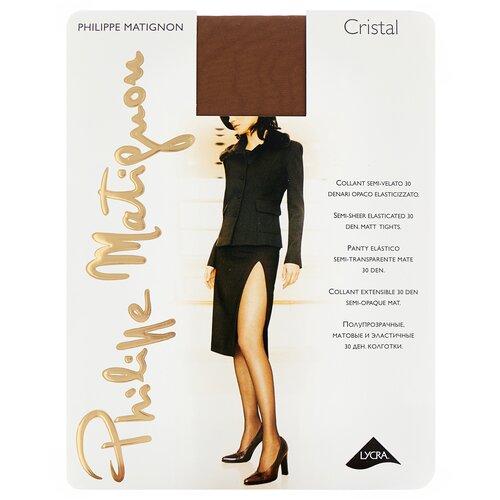 колготки женские levante relax 40 цвет glace темно бежевый размер xxl 5 Колготки Philippe Matignon Cristal, 30 den, размер 5-MAXI-XL, glace (бежевый)
