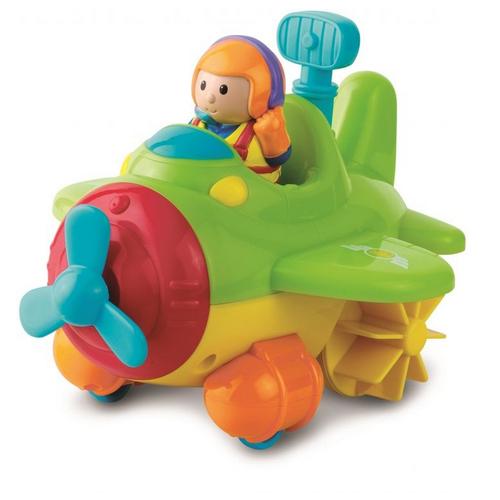 Игрушка для ванной Happy Kid Toy Водный транспорт гидроплан 3954