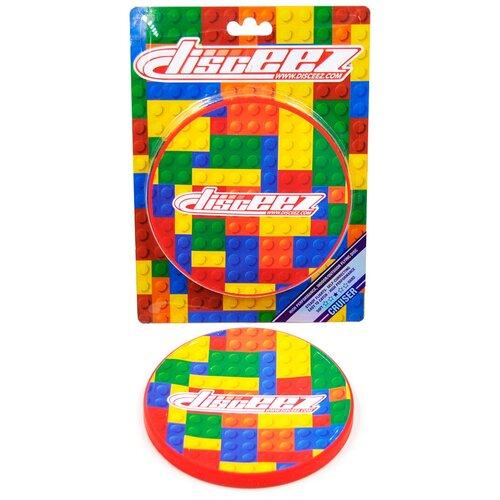 Купить 8176018 Летающий диск (силиконовый), жесткость 3 из 5, для игры в помещении и на улице, т.м. DISCEEZ, Фрисби