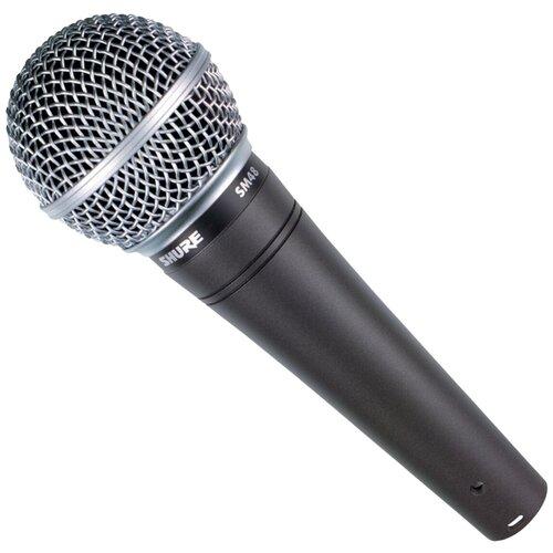 Микрофон Shure SM48-LC, черный