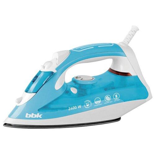 Фото - Утюг BBK ISE-2400 голубой/белый утюг bbk ise 2401 зеленый белый