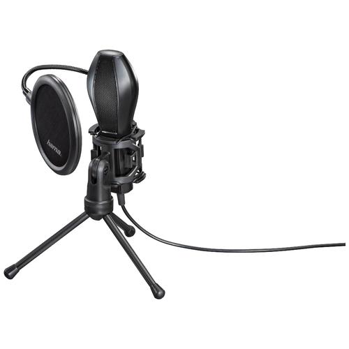 Микрофон HAMA Stream (00139907), черный