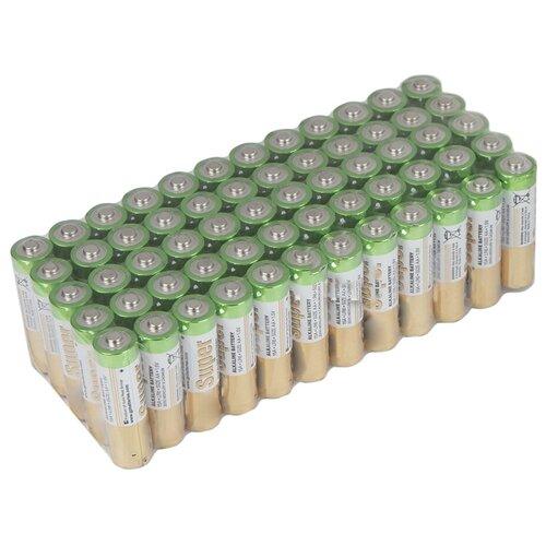Фото - Батарейка GP Super Alkaline AA, 60 шт. батарейка energizer max plus aa 4 шт
