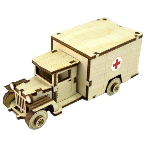 Сборная модель Lemmo Советский грузовик ЗИС-5М (ЗИС-3) сборная модель zvezda советский грузовик 4 5 тонны зис 151 3541 1 35