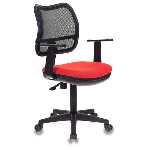 Компьютерное кресло Бюрократ CH-797 детское, обивка: текстиль, цвет: 26-22 компьютерное кресло бюрократ ch w797 abstract детское обивка текстиль цвет мультиколор абстракция