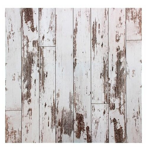 Фотофон Арт Узор Доски светлые серый/коричневый