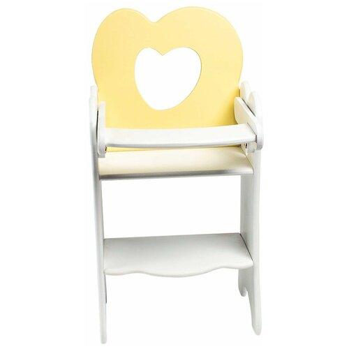 PAREMO Кукольный стульчик для кормления Мини (PFD120M) нежно-желтый paremo кукольный стульчик для кормления мини pfd120m белый