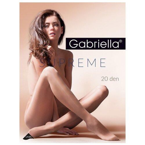 Купить Колготки Gabriella Supreme, 20 den, размер 3-M, beige (бежевый), Интим-товары
