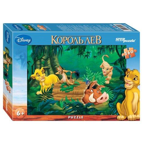 Пазл Step puzzle Disney Король Лев (95014), 260 дет. пазл step puzzle король лев 96079 360 дет