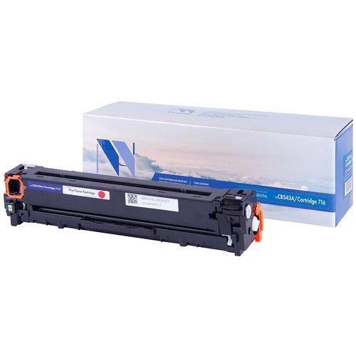 Фото - Картридж NV Print CB543A/716 Magenta для HP и Canon, совместимый картридж nv print sp310 magenta для ricoh совместимый