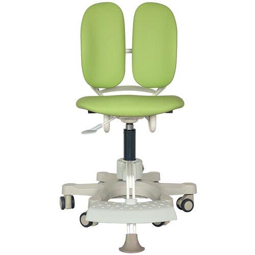 компьютерное кресло duorest kids max детское обивка искусственная кожа цвет светло зеленый Компьютерное кресло DUOREST Kids MAX детское, обивка: искусственная кожа, цвет: светло-зеленый