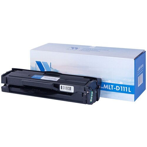 Фото - Картридж NV Print MLT-D111L для Samsung, совместимый nv print nv mlt d203u для samsung proxpress m4020nd m4070fr 15000k