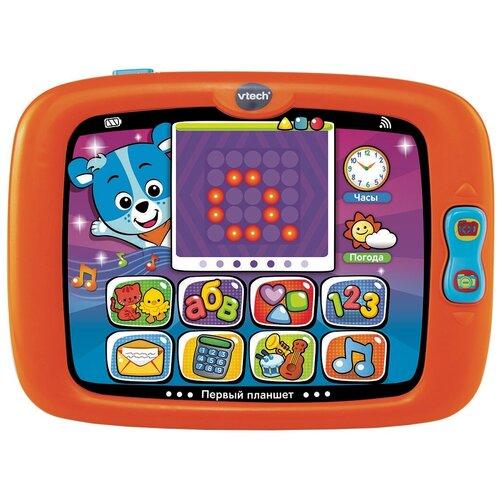 Планшет VTech Первый планшет оранжевый/зеленый