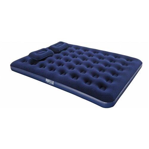 Надувной матрас Bestway Flocked Air Bed 67374 синий