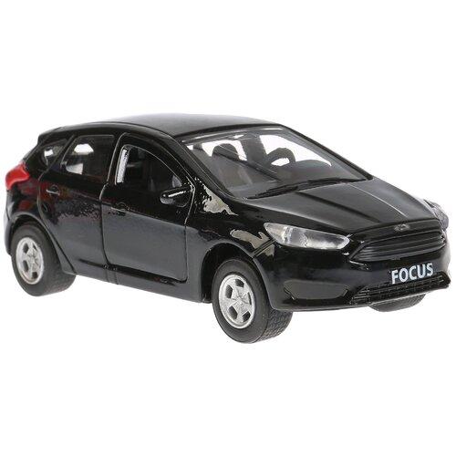 Легковой автомобиль ТЕХНОПАРК Ford Focus, 12 см, черный