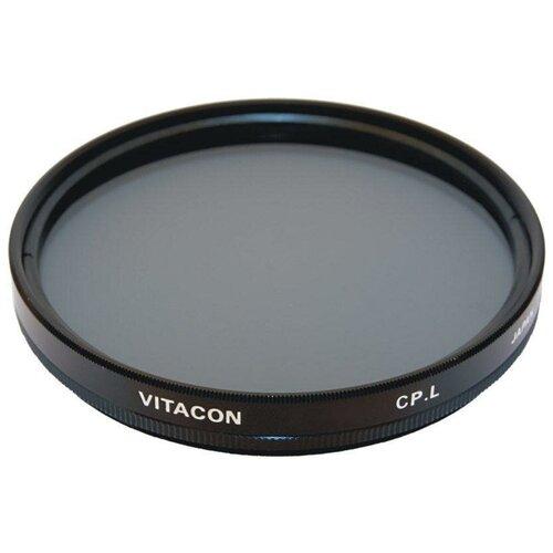 Фото - Светофильтр поляризационный круговой Vitacon C PL 55 мм светофильтр поляризационный круговой hakuba circular pl 67мм
