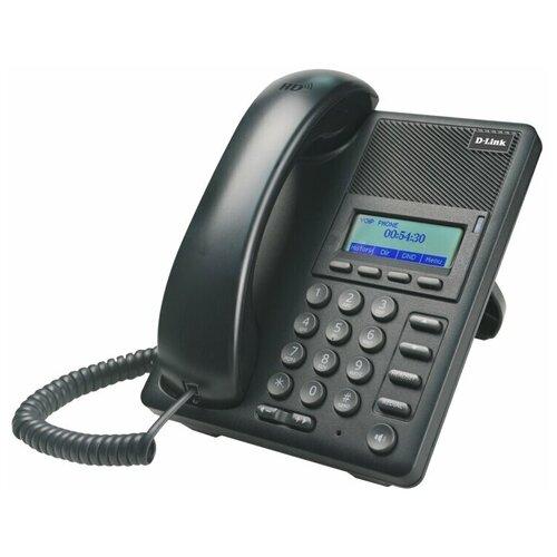 VoIP-телефон D-link DPH-120S voip телефон d link dph 400se черный dph 400se f