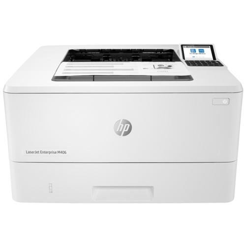 Фото - Принтер HP LaserJet Enterprise M406dn, белый принтер hp laserjet enterprise m611dn 7ps84a