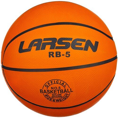 Баскетбольный мяч Larsen RB (ECE), р. 5 оранжевый баскетбольный мяч larsen pu6 р 6