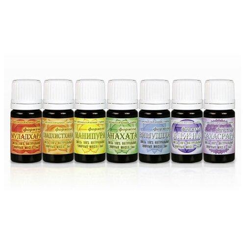 IRIS набор смесей эфирных масел Комплект для духовных и энергетических практик по чакрам, 7 шт.