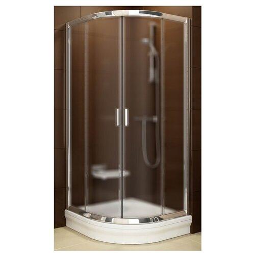 Душевой уголок RAVAK Blix BLCP4-90 90см*90см профиь блестящий/стекло грейп матовое