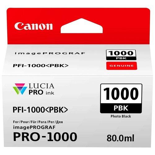 Фото - Картридж Canon PFI-1000PBK (0546C001) картридж canon pfi 1100y 0853c001