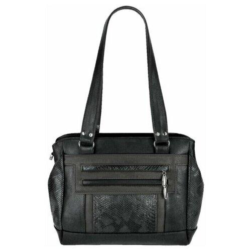 Сумка женская Кожгалантерея Крокус Пассаж-8283-черн.