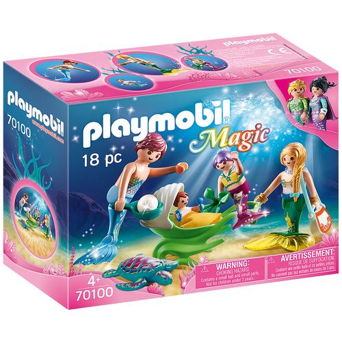 Конструктор Playmobil Magic 70100 Семья русалок